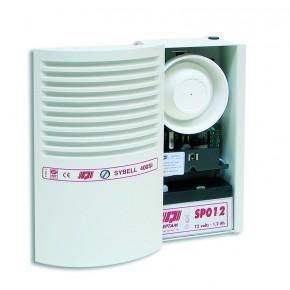 Sirène autonome intérieure 120 dB-NF&A2P 3 boucliers ( prévoir batterie SP012 )
