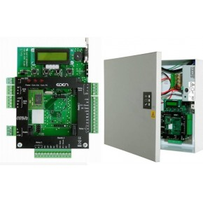 UTL autonome et centralisée pour gestion de 2 lecteurs/10000 utilisateurs - coffret métallique blanc - Alim.220Vcc -12V/4,5A