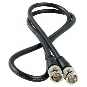 Câble BNC mâle à BNC mâle.
