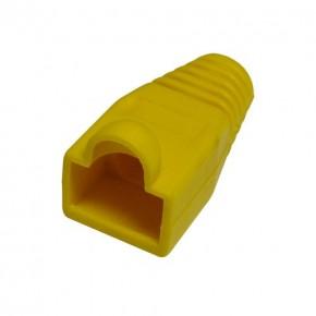 Manchon Jaune pour RJ45 - Diam 6.1mm