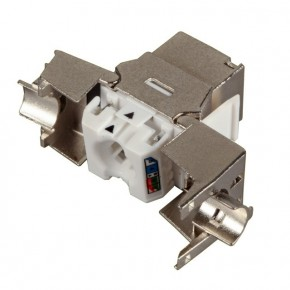 Embase RJ45 Keystone Cat 6a FTP à sertissage rapide pour 3060731