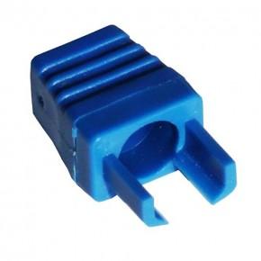 Manchon type surmoulage Bleu - Paquet de 10 pcs