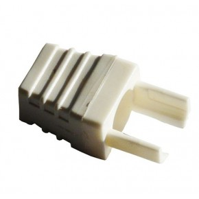 Manchon type surmoulage Blanc - Paquet de 10 pcs