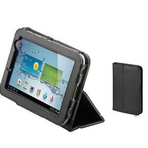 Etui portefeuille en cuir pour Galaxy Tab 3 - 7''