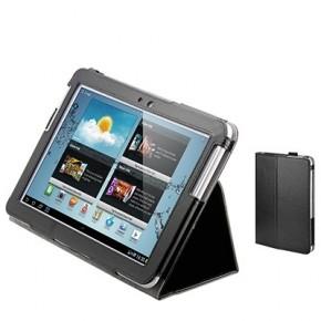 Etui portefeuille en cuir pour Galaxy Tab 3 - 10,1''