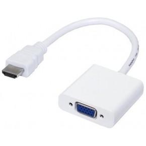 Adaptateur HDMI M (entrée) vers VGA F (sortie) – 0.15 m