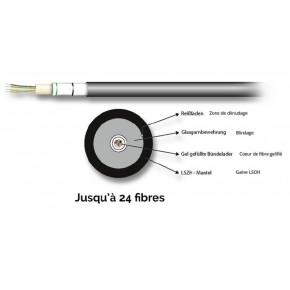 Câble optique Universel 04E (1x4) Monomode G657A - au mètre