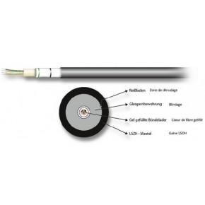 Câble optique Universel 04G (1x4) Multimode OM3 - au mètre
