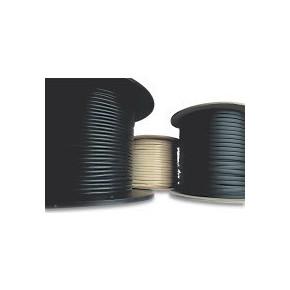 Câble plat téléphonique noir 8 conducteurs - 100 m