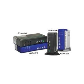 KVM 2 ports USB & PS2 / VGA avec sortie audio