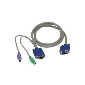 Câble KVM PS/2 M / M - 1,2 m
