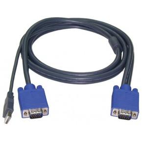 Câble KVM USB M / M - 1,2 m