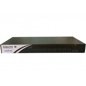 KVM 16 ports USB & PS/2 / VGA rackablel manageable en IP - OSD