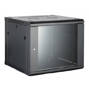 UPTEC - Coffret 19'' 12U 450mm avec panneaux amovibles