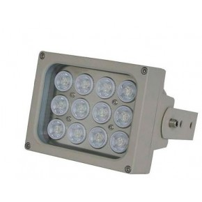 Projecteur d'éclairage infrarouge avec portée de 180 mètres, 90°