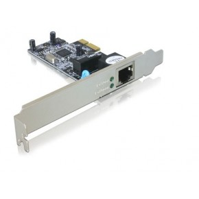 Carte PCI-Express Gigabit - Low profile