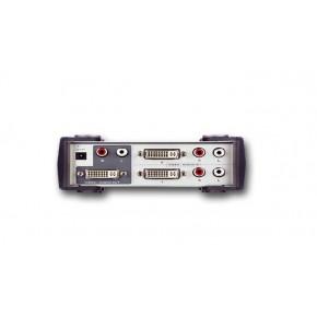 Switch DVI (Single Link) + Audio 4 voies 4 E à 1 S - 5 m - ATEN VS461