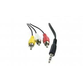 Boitier diffusion multimédia 4Go - IN : SD/USB - OUT : 3xRCA/HDMI