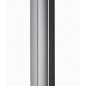 Bandeau alu - Longueur 2,5 m - montage vertical - équipé de 2 x ventouses 300kg 12/24 VCC + bouchons haut et bas
