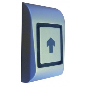 Bouton-poussoir saillie anti vandale usage interieur, sensitif, 1 sortie relai 1A, marche arret ou temporisé -IP54- 12VCC