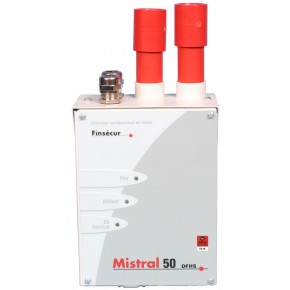Détection LASER par aspiration pour 50m de tube maxi et 400m2 protégés - Necessite l'utilisation d'une EAE