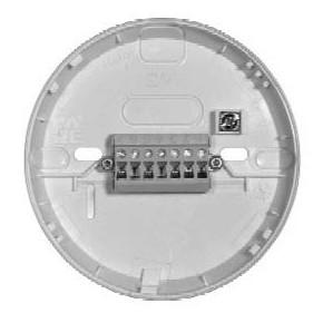 Socle commun pour détecteur série 05 avec support etiquette