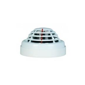 Détecteur de fumée adressable bi-technologies optique et thermique 12v + socle S100