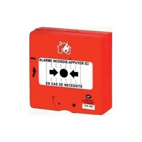 Boitier bris de glace avec isolateur de court circuit 12v - adressable