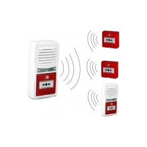 Tableau autonome de type 4 RADIO - livré avec une pile 9 V -