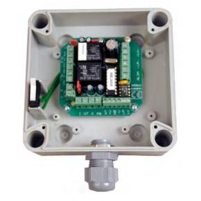 Interface 1 accès en boitier ABS - Liaison Bus RS485 - Interface Wiegand 26bits et C&D