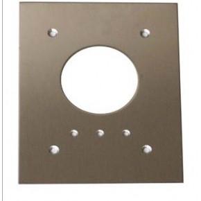 Plaque d'encastrement en acier inoxydable pour lecteur prox PM485ELA
