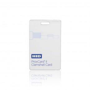 Badge PROXCARDII format carte épaisse blanche