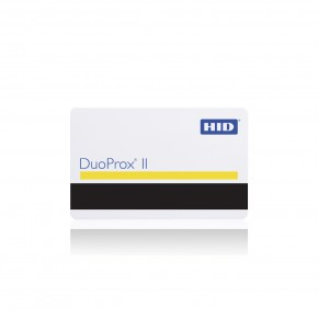 Badge DUOPROXII format carte ISO blanche - piste ISO2 vierge