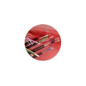 Câble souple 2+6 conducteurs avec écran - Couronne de 100 m -