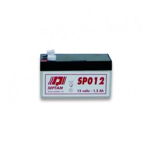 Batterie étanche 12V - 1,2Ah FR V0 - emballé individuellement -