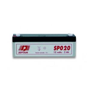 Batterie étanche 12V - 2Ah FR V0 - emballé individuellement