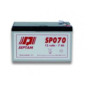 Batterie étanche 12V - 7Ah FR V0 - emballé individuellement