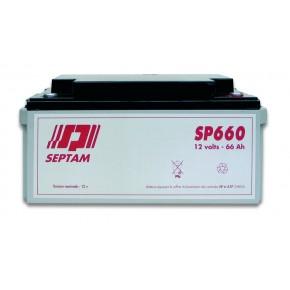 Batterie étanche 12V - 66Ah FR V0 - emballé individuellement