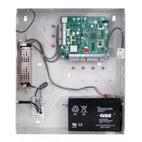 UTL de gestion 2 accès ou 2 portes E+S si utilisation des lecteurs OMNICLASS-Alim12Vcc 3,5A intégrée-batterie à prévoir