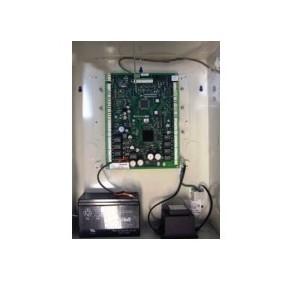 UTL de gestion 4 accès - Alim Secourue intégrée  + batterie 12Vcc-7Ah incluse - 4 anti-parasites (S-4)V