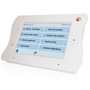 """Pupitre tactil de gestion  XPERT ecran 7""""-se raccorde sur réseau Ethernet-fonctionne à partir des cartes XP V4C et XL V3B"""