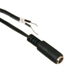 Câble DC femelle pour caméra