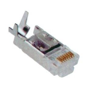Connecteurs RJ45/8 blindés pour pince avec clip pour maillage