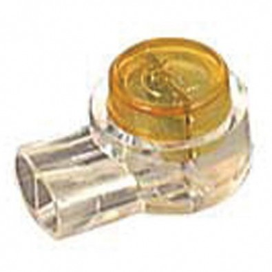 Connecteur par pression pour câble rigide