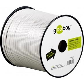 Bobine câble HP - 2x2,5mm² - Blanc - 100m