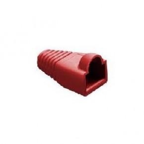 Manchon Rouge pour RJ45 - Diam 6.1 mm - Paquet de 10 pcs