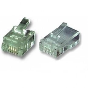 Connecteur RJ9 UTP câble rond