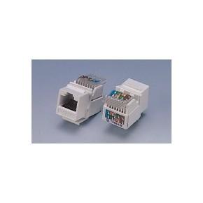 Embase RJ45 Cat 6 UTP CAD - Blanche