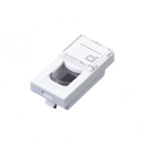 Plastron 22.5x45 avec volet C6 UTP - Contact Auto-dénudants