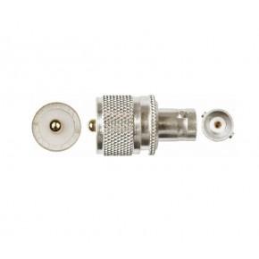 Adaptateur UHF M / BNC F